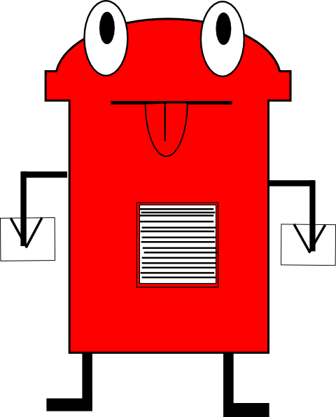 Post Office Box Clip Art