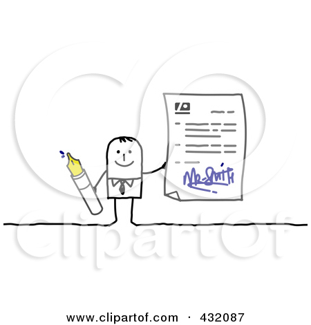 Royalty Free  Rf  Illustrations   Clipart Of Agreements  1