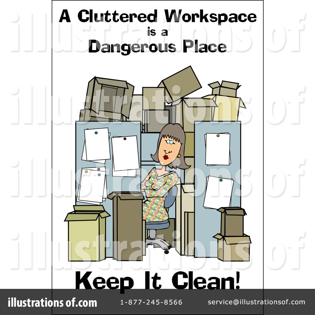 Royalty Free  Rf  Work Safety Clipart Illustration By Djart   Stock