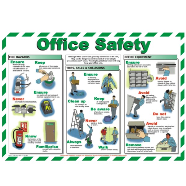 Safety Posters   Customised Signs Made To Order