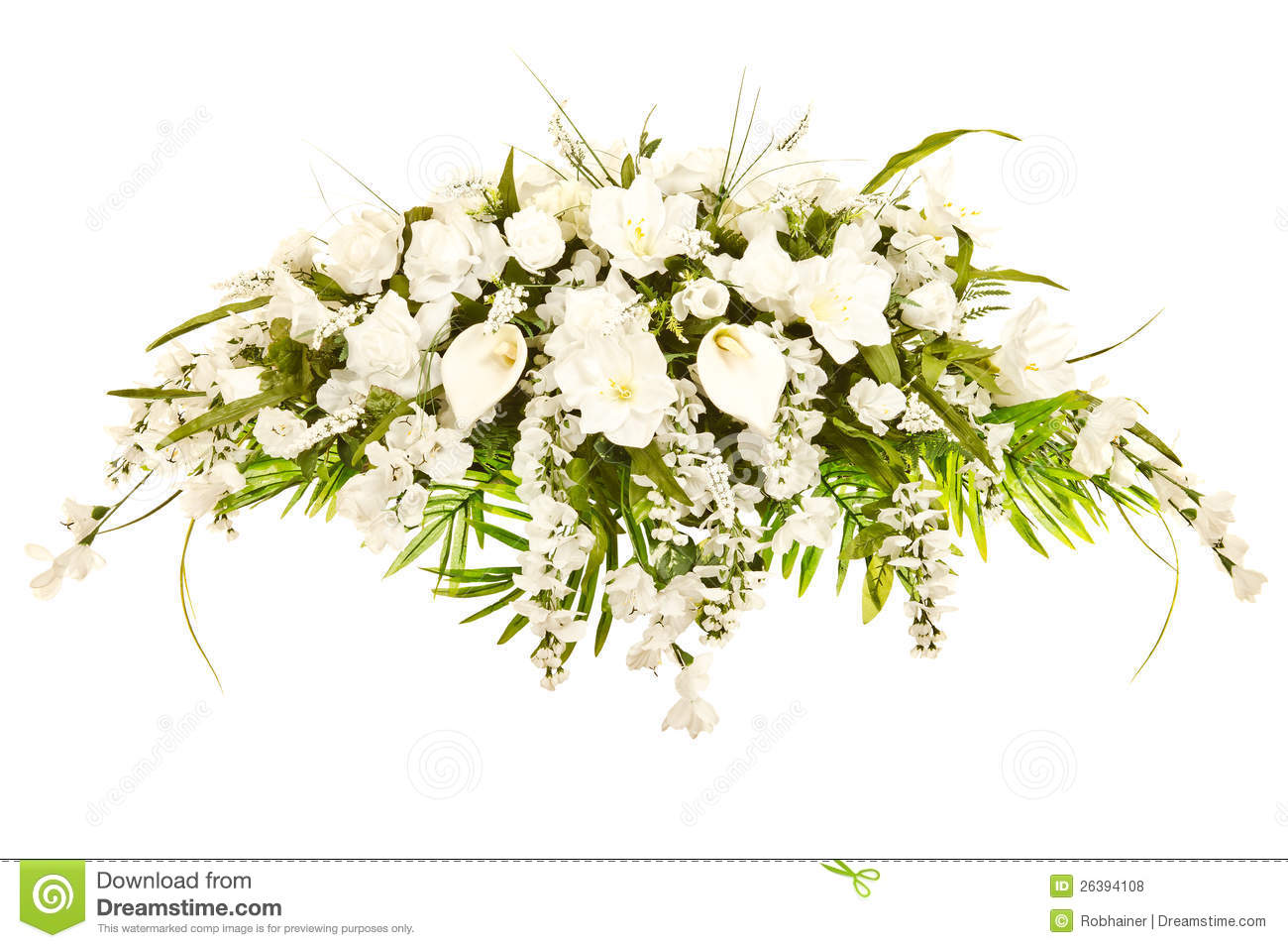 Clipart Flowers For Funeral