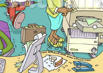 This What S Wrong Office Occupational Health Cartoon Is Available To