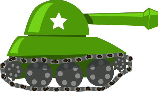 War Tank Clip Art At Clker Com   Vector Clip Art Online Royalty Free