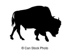 Bison   Abstract Illustration Of Buffalo