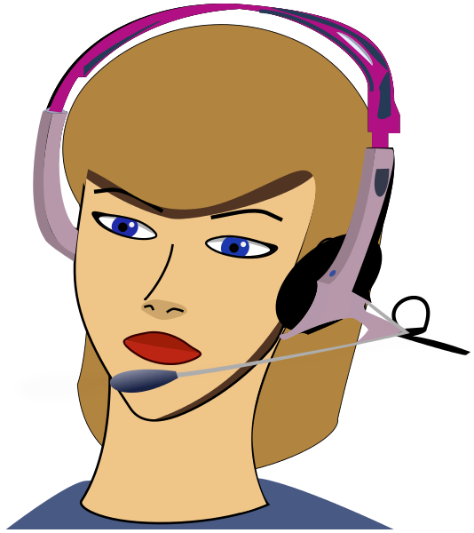 Call Agent Clipart - Clipart Kid