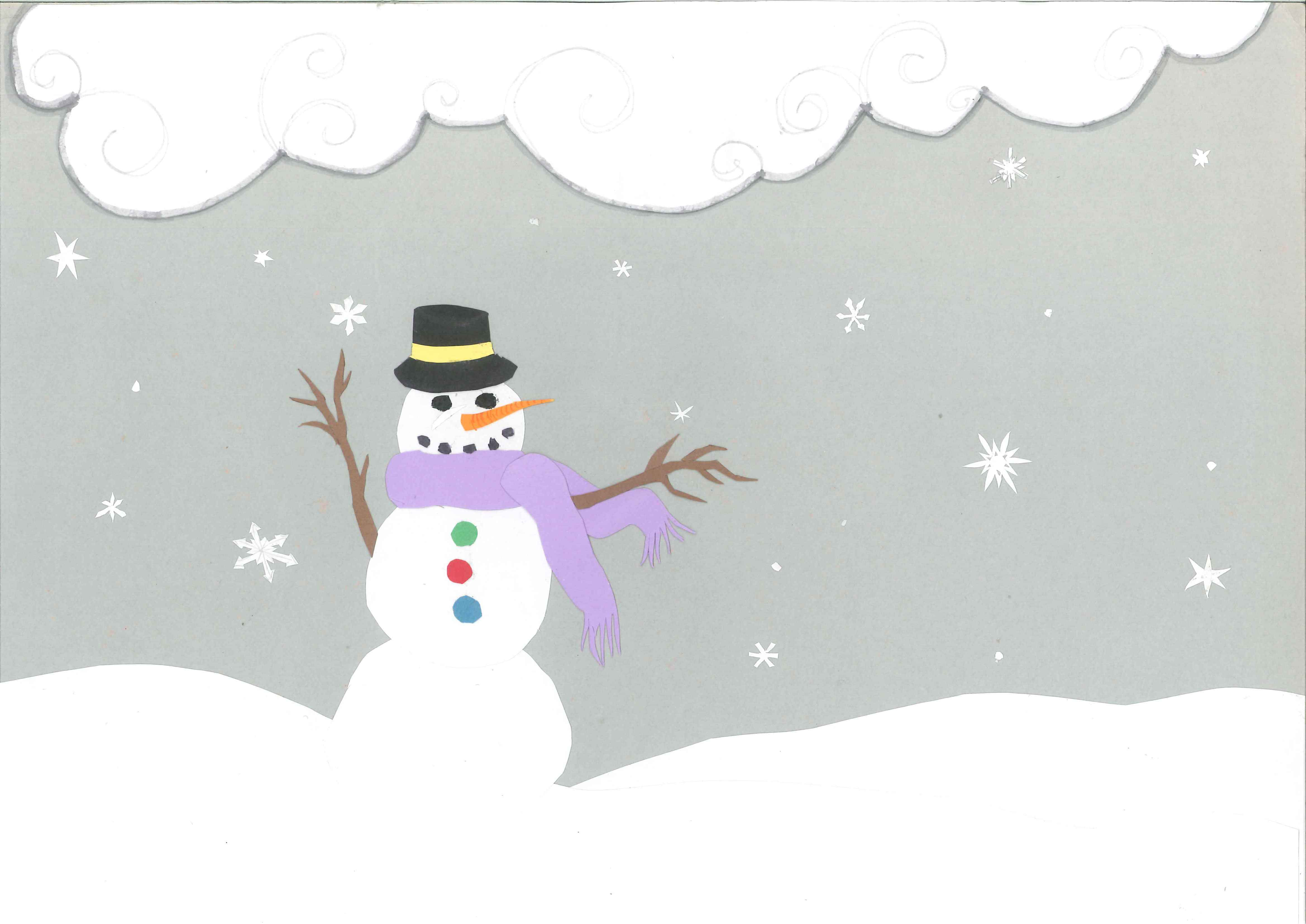 Snowy Day Clipart - Clipart Kid