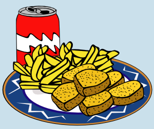 Coke Can Chicken Nuggets French Fries Clip Art At Clker Com   Vector