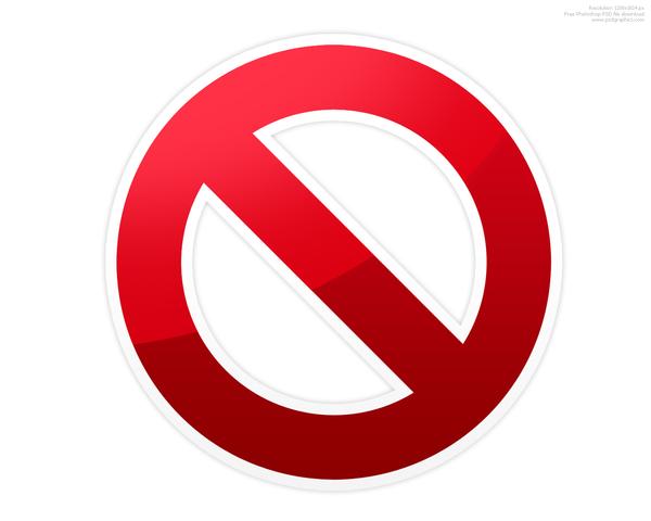 Do Not Symbol   Free Images At Clker Com   Vector Clip Art Online