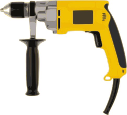 Drill Hand Power Yellow    Tools Drill Other Drills Drill Hand Power