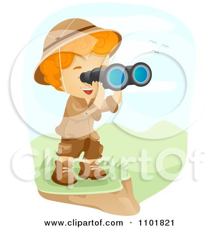 Safari Explorer Eyes Clip Art