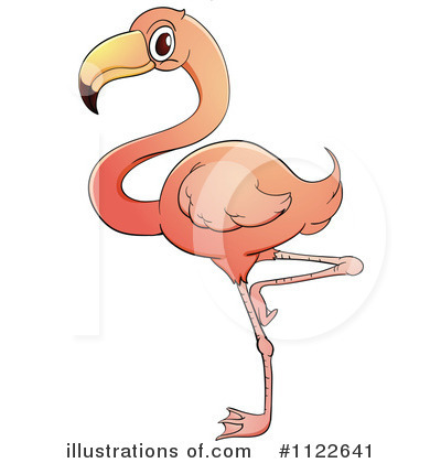 Flamingo Clipart  1122641   Illustration By Colematt