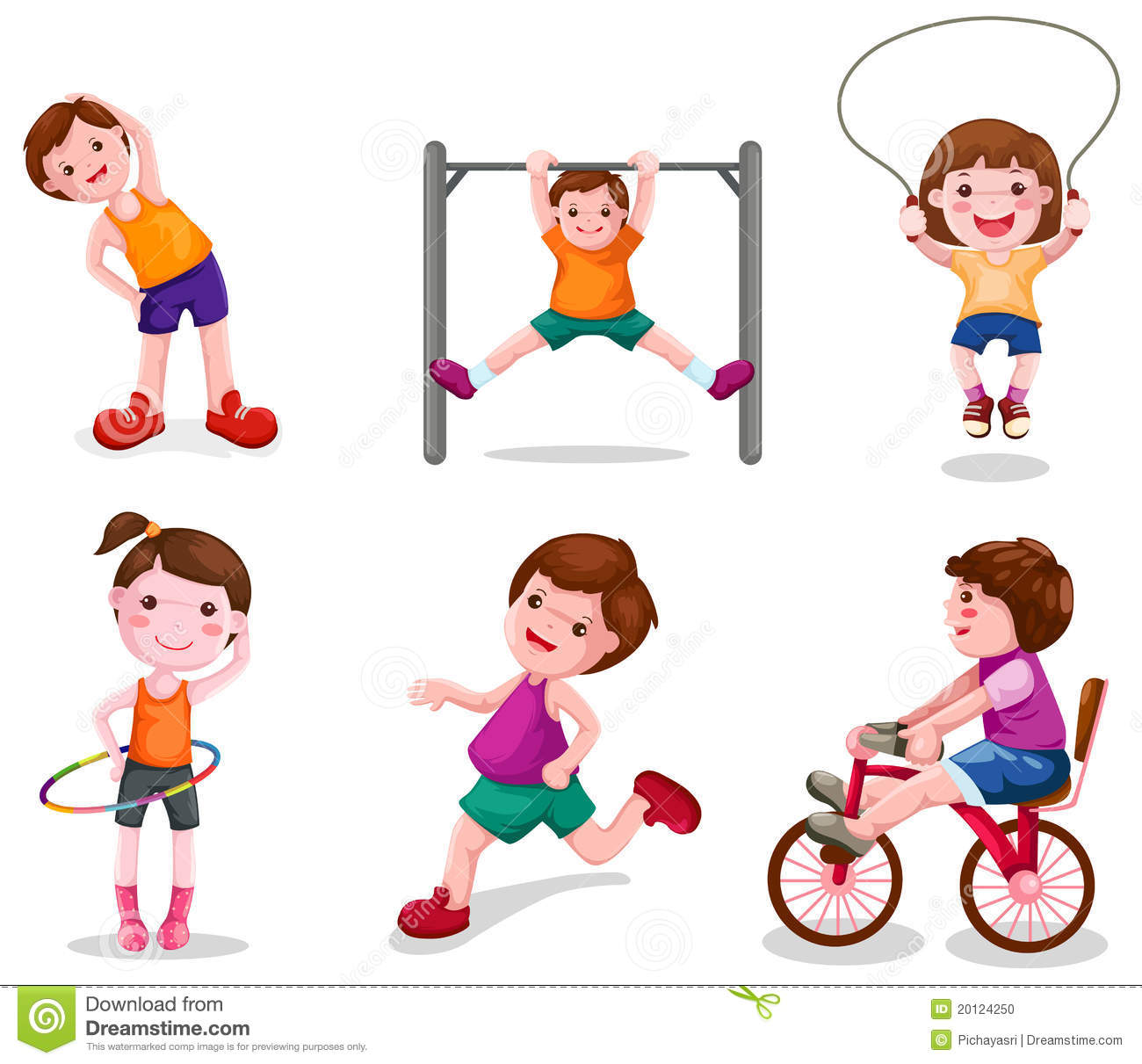 Activity Time Clipart - Clipart Kid