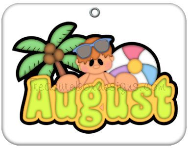 Month  August    Clip Art   Pinterest