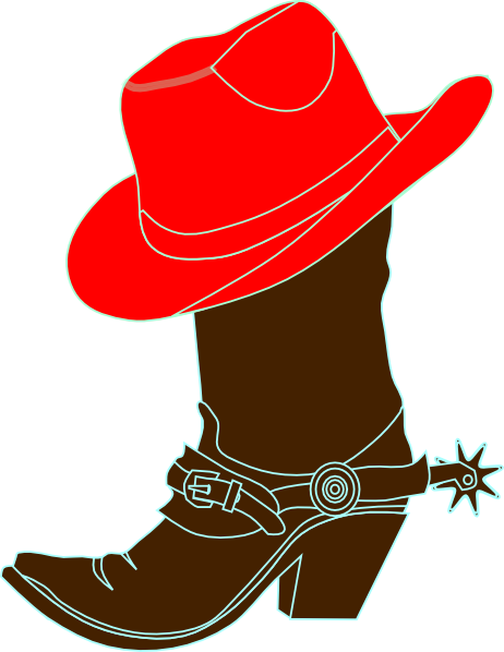 Cowboy Dancing Boots Clipart - Clipart Kid