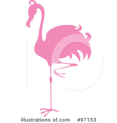 Royalty Free  Rf  Flamingo Clipart Illustration  97153 By Pams Clipart