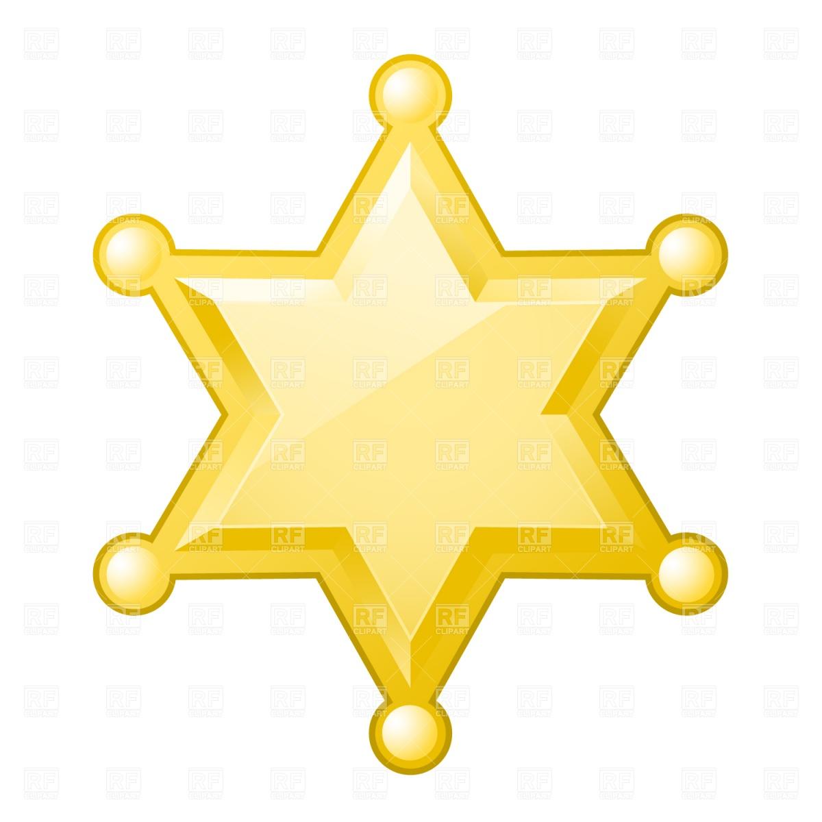 Clip Art Sheriff Badge Clipart sheriff badge clipart kid download royalty free vector eps
