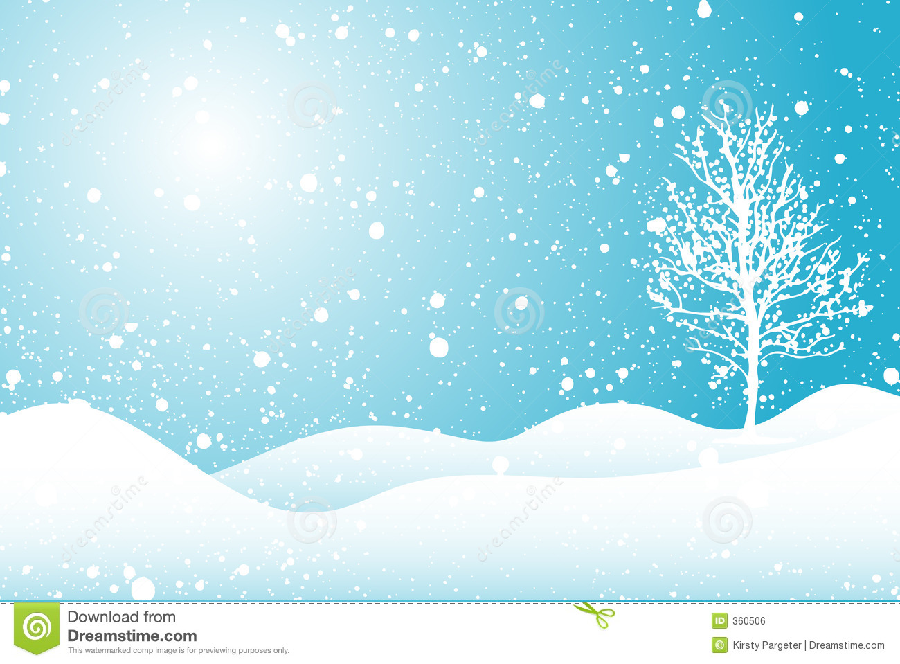 Winter Scene Clipart - Clipart Kid