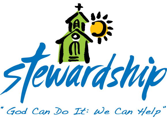 This Is The Theme For The Stewardship Drive At The Church This Year