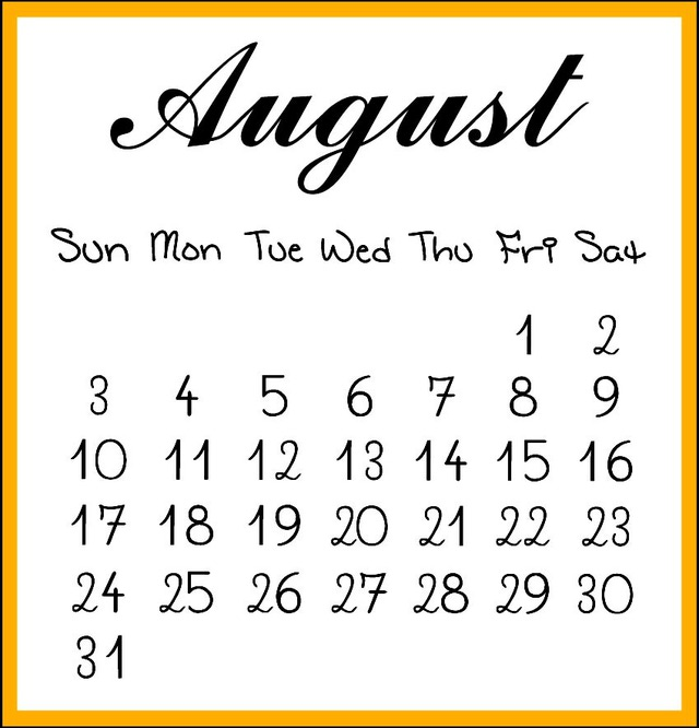August Fun Facts