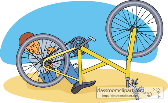 Bicycle Clipart   Bike Repair   Classroom Clipart
