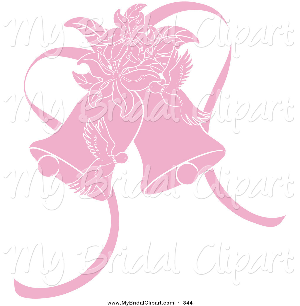 Pink Wedding Clipart - Clipart Kid
