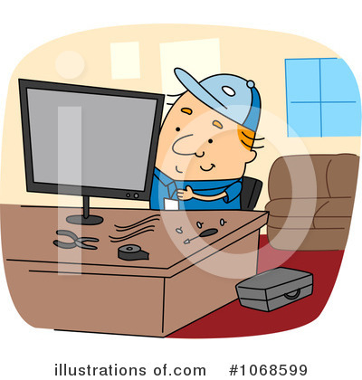 Computer Repair Clipart