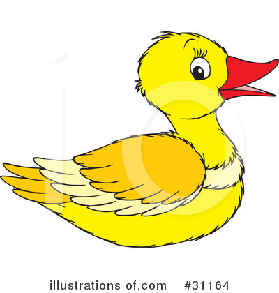 Duck Clipart  31164   Illustration By Alex Bannykh