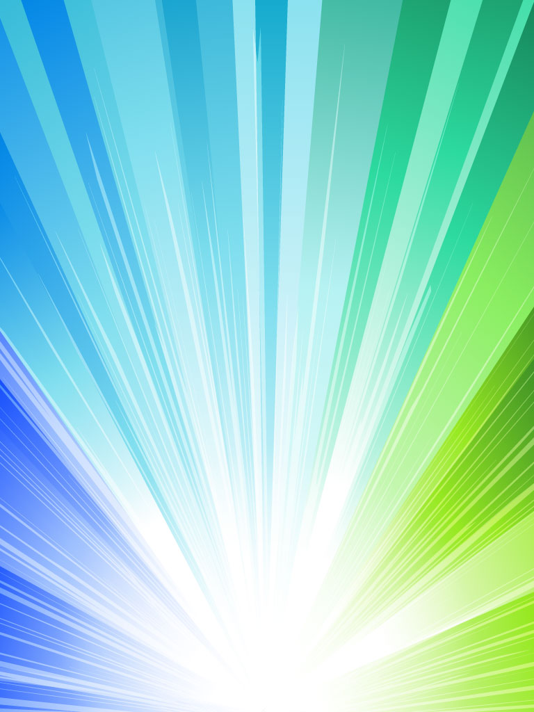Dynamic Multicolored Light Burst Background For Your Announcements