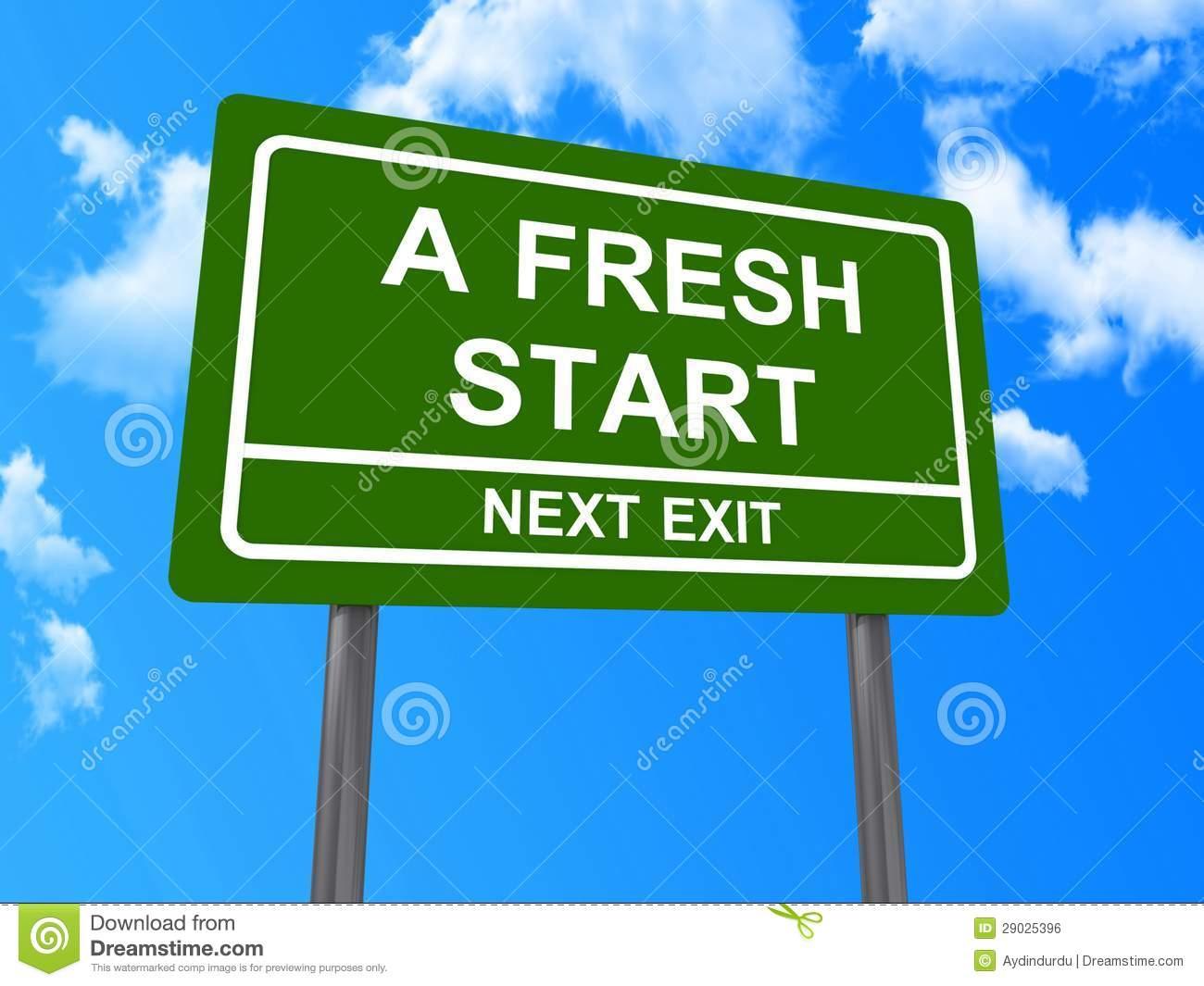 Fresh Start Clipart - Clipart Kid