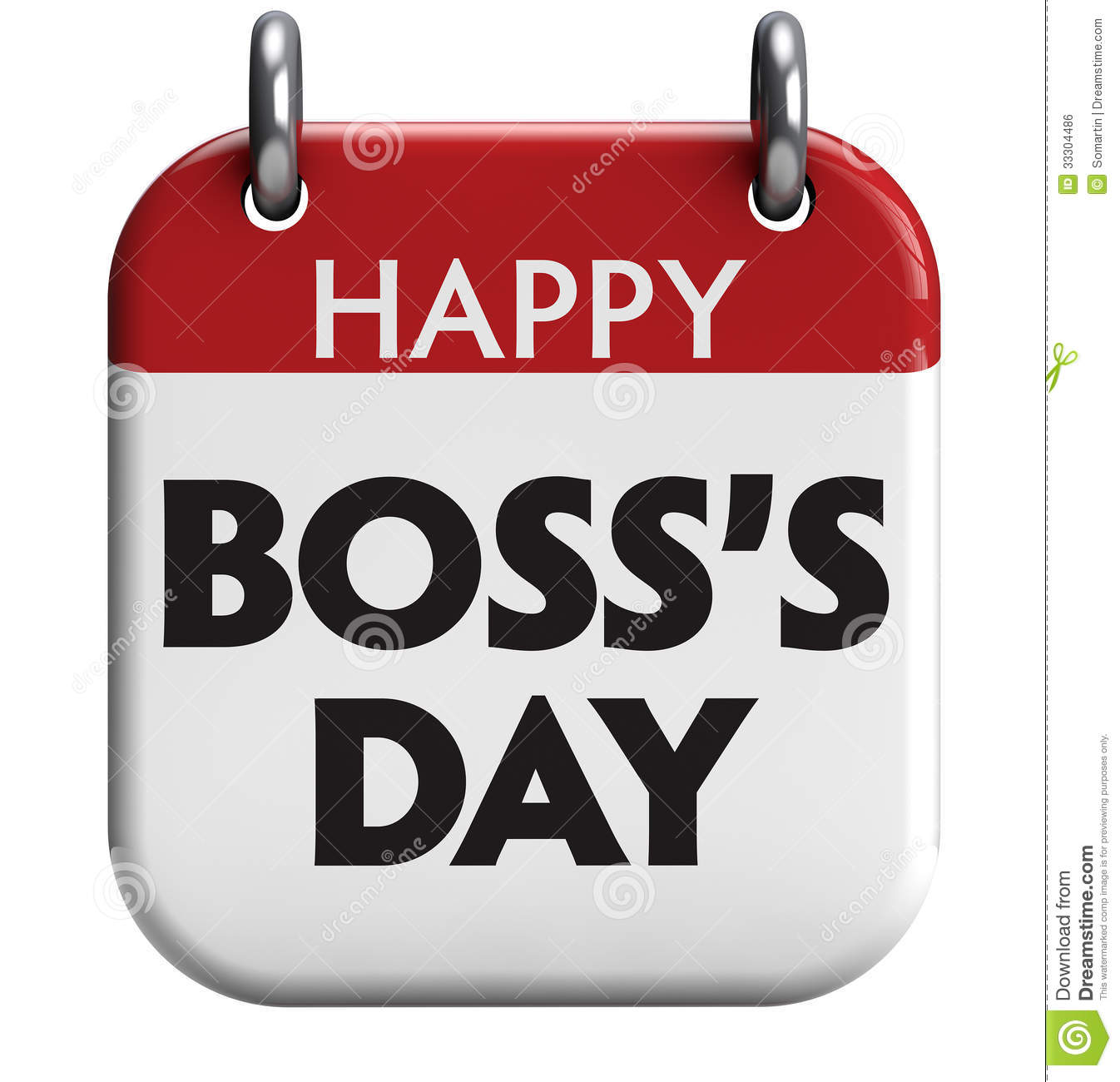 Happy Bosss Day Clip Art  Free Happy Bosses Day Printable Card  View