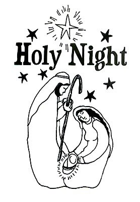 Holy Night By Kathy Grimm