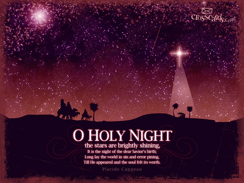 Holy Night   Wallpaper