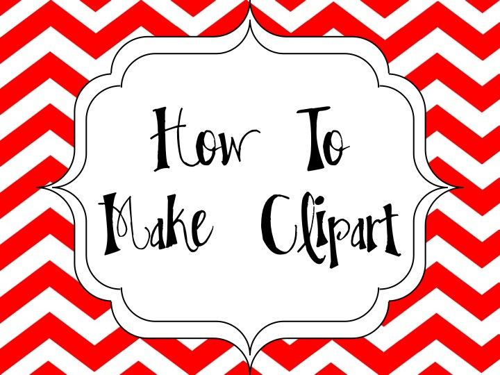 How I Make Clipart On My Ipad