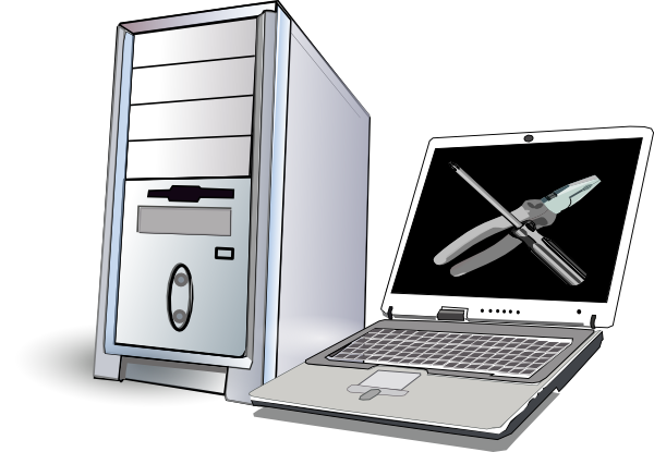 Laptop Repair Clipart Images