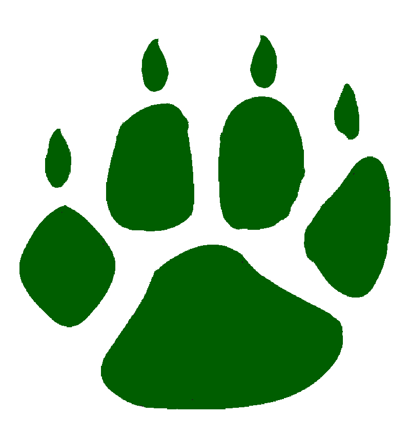 Panther Paw Print Clipart - Clipart Kid