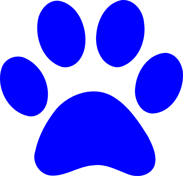 Panther Paw Print Clip Art At Clker Com   Vector Clip Art Online