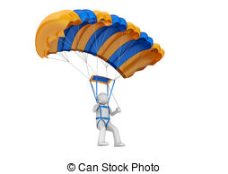 Paratrooper Illustrations And Clipart