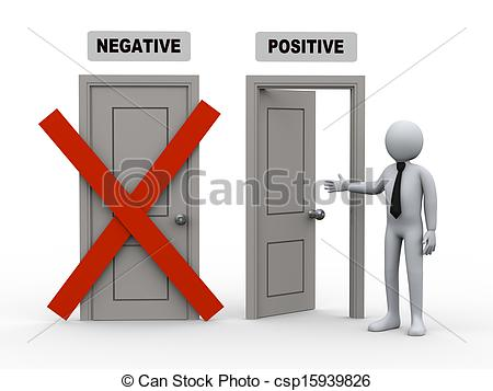Positive Doors   3d Illustration Of    Csp15939826   Search Clipart