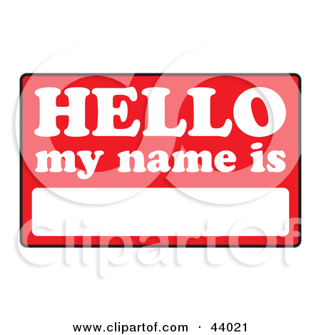 Royalty Free  Rf  Name Clipart   Illustrations  1