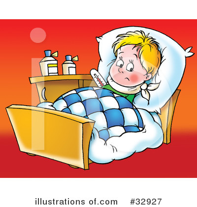 Sick Baby Clip Art Royalty Free  Rf  Sick Clipart