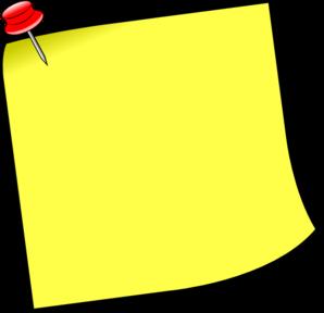 Notice Clipart - Clipart Kid