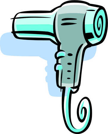 Appliance Blow Dryer Cable Cartoon Clip Art Clip Arts Clipart
