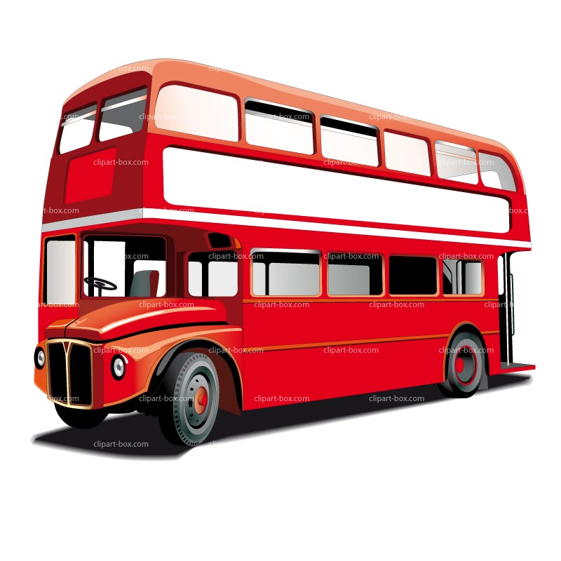 Red London Bus Clip Art – Cliparts