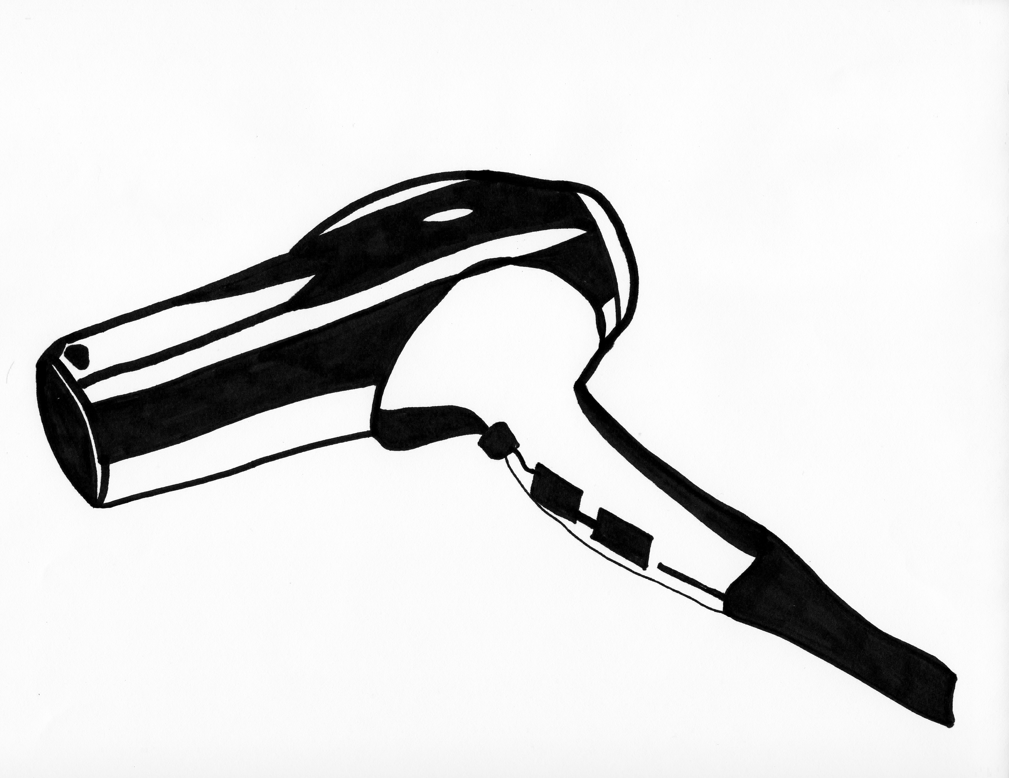 Blow Dryer Clip Art