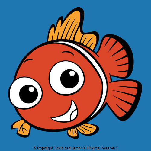 clown fish clipart clipart suggest clownfish clipart #37 Clown Fish Line Drawing