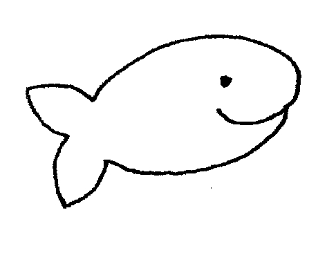Cute Fish Clipart Black And White   Clipart Panda   Free Clipart