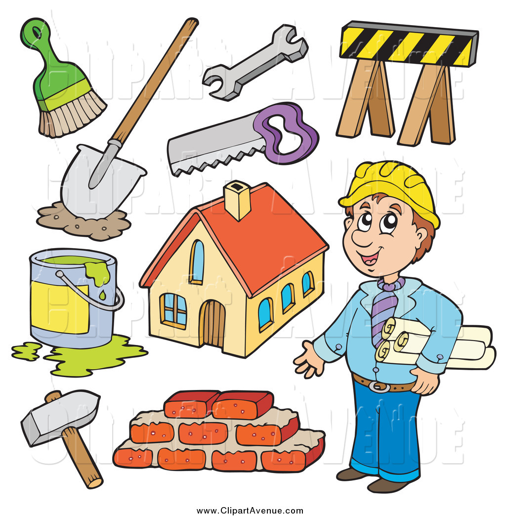 Displaying 20  Images For   Home Builder Clip Art