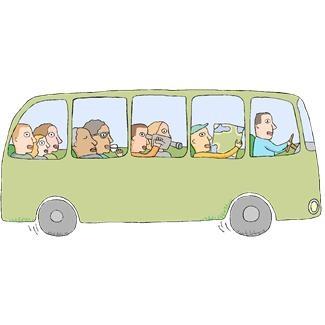 Bus Trip Clipart - Clipart Kid