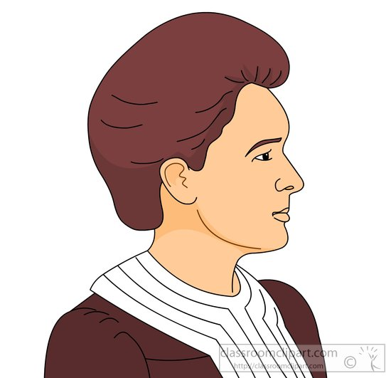 Download Marie Currie Physicist Chemist Clipart 8142
