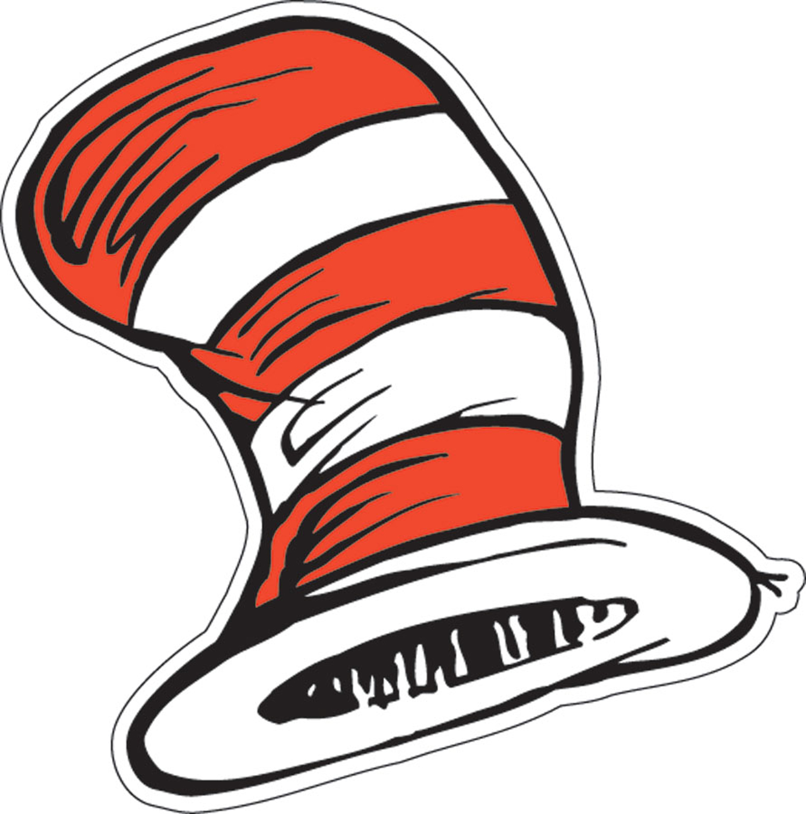 Dr  Seuss The Cat S Hat Cutouts   Thepartyworks